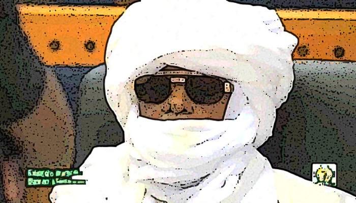 Hissène Habré a assisté impassible à son procès (Image modifié)