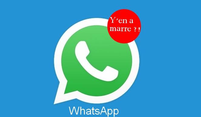 whatsapp y a marre